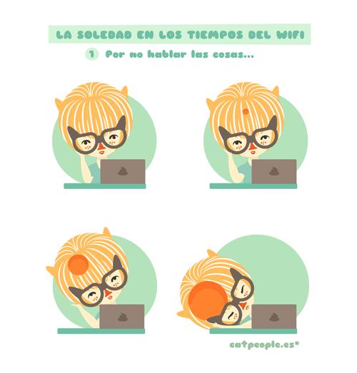 La soledad en los tiempos del wifi - Por no hablar las cosas