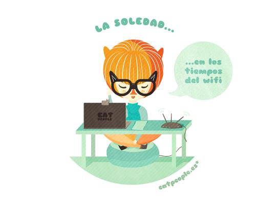 Cat People en La soledad en los tiempos del wifi