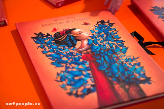 Libro Benjamin Lacombe Madame Butterfly
