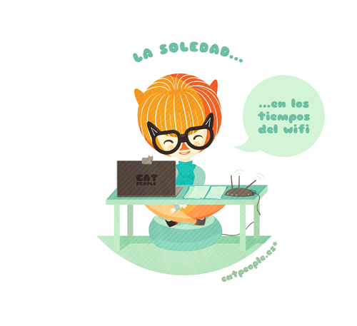 Cat People - La soledad en los tiempos del wifi (5)