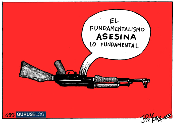 JR Mora el fundamentalismo asesina lo fundamental