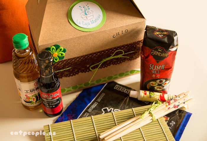 La Caja Mañosa | Kit para hacer sushi