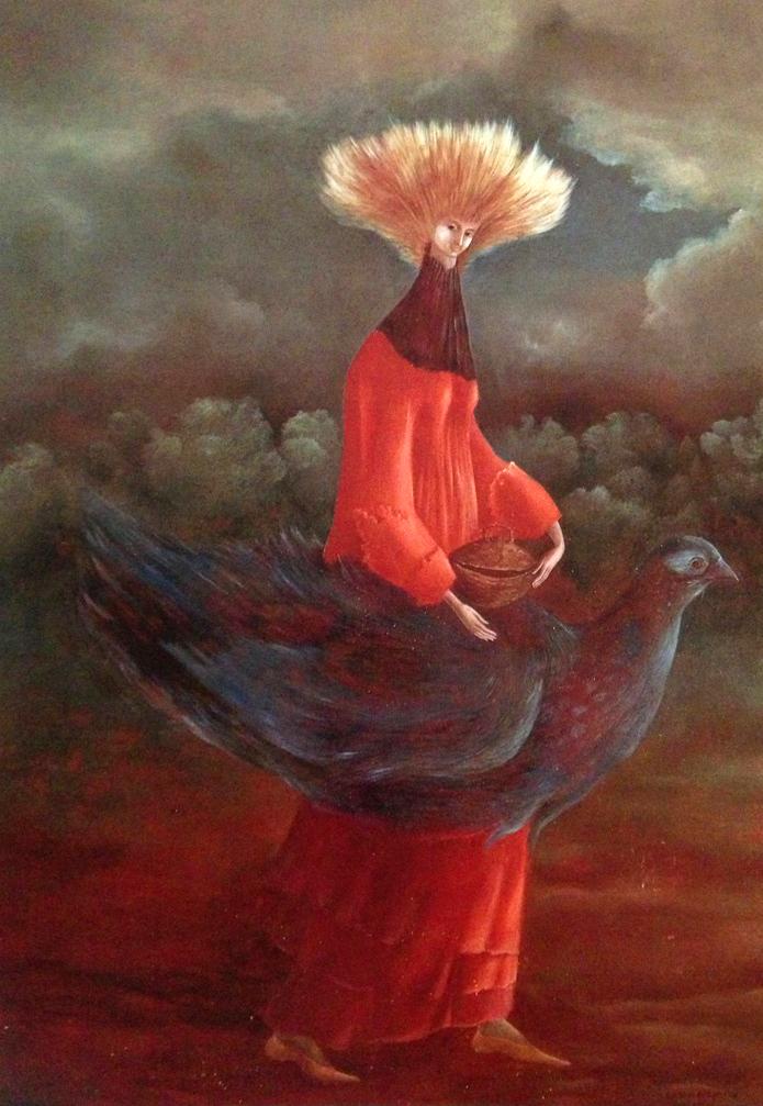 Leonora pintora Surrealista