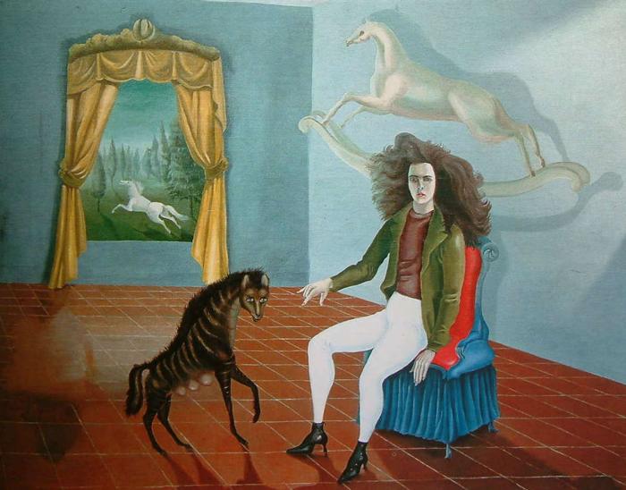 Autorretrato de Leonora Carrington