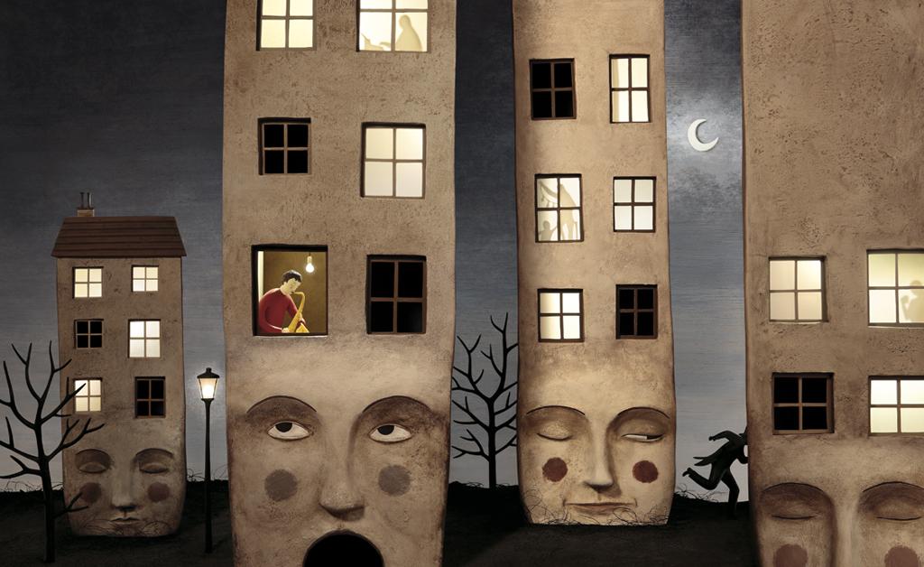 Irma Gruenholz - Il Ballerino del silenzio y los edificios
