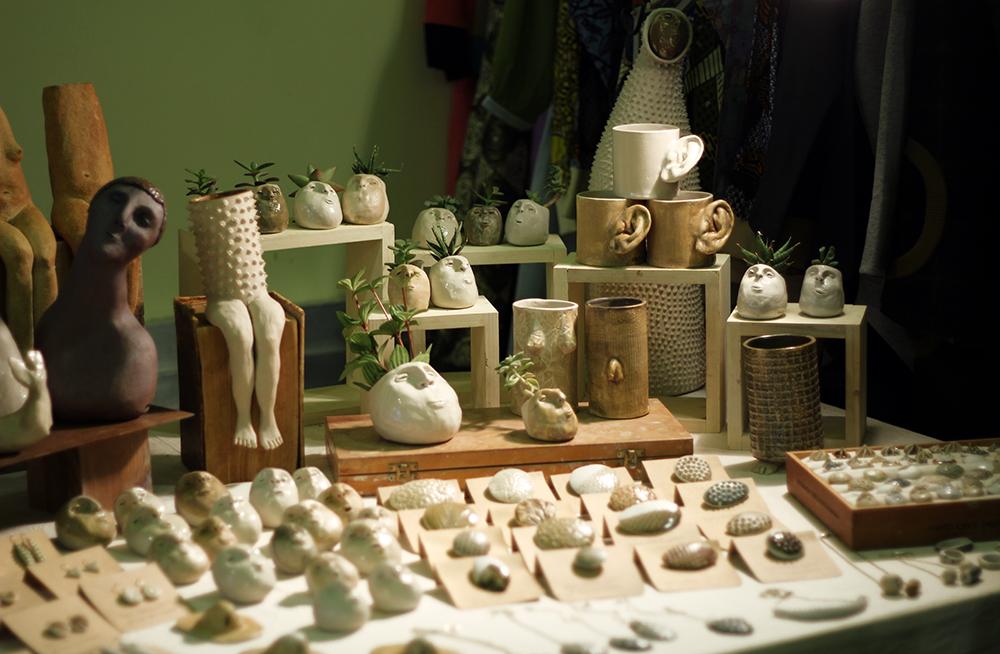 Flor Maqvey Uno Creaciones Cerámica Nómada Market