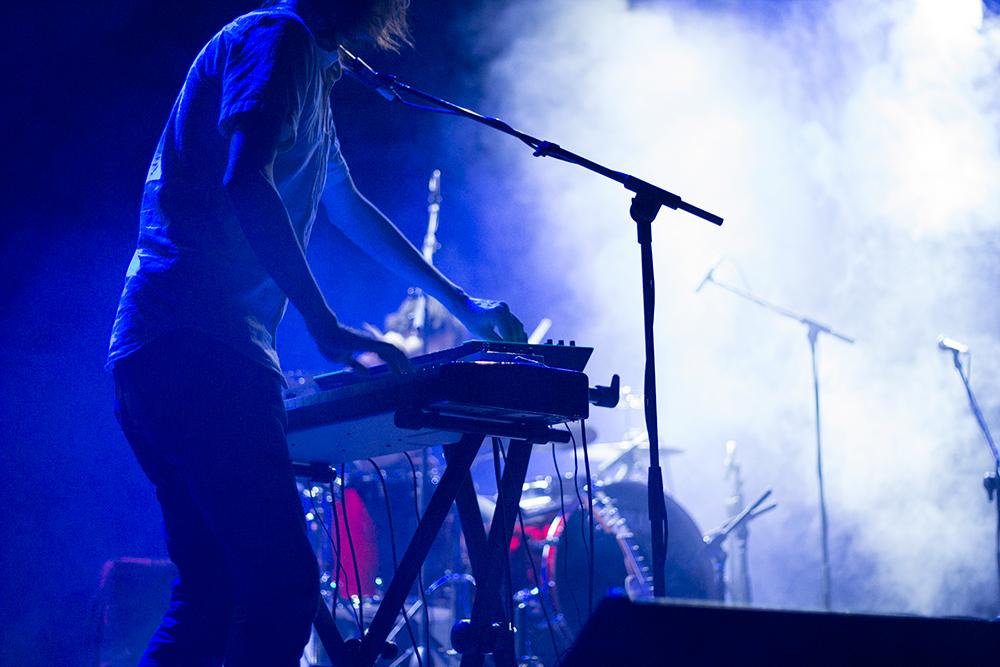 Concierto de Tulsa en el South Pop de Sevilla 2015 - Teclista de Tulsa