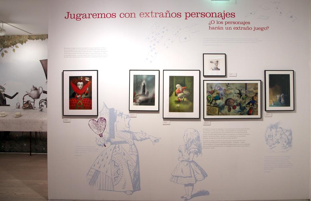 Alicia Museo ABC El criquet de la Reina