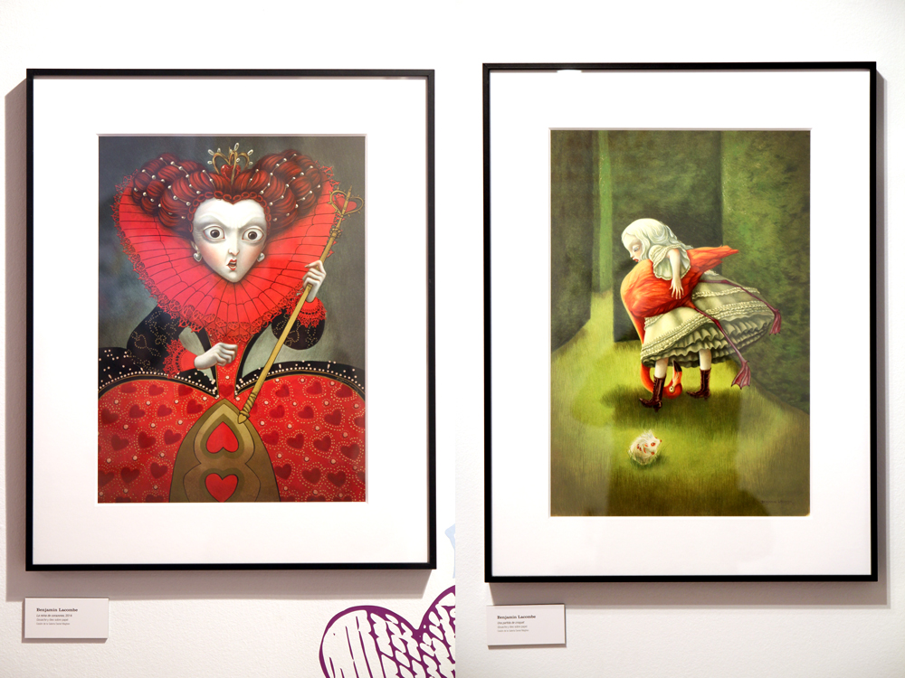 Alicia Museo ABC El criquet de la Reina - Benjamin Lacombe
