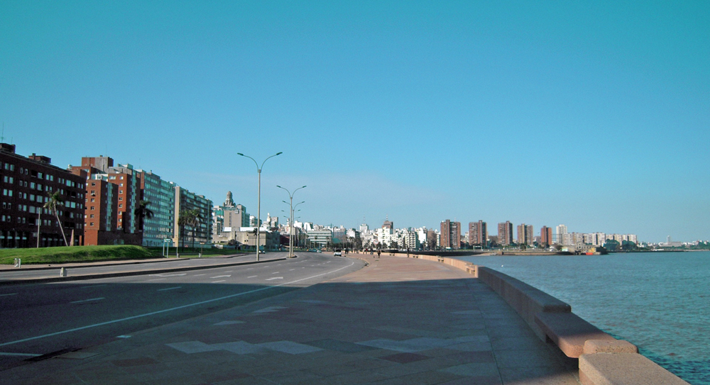 Las Ramblas de Montevideo