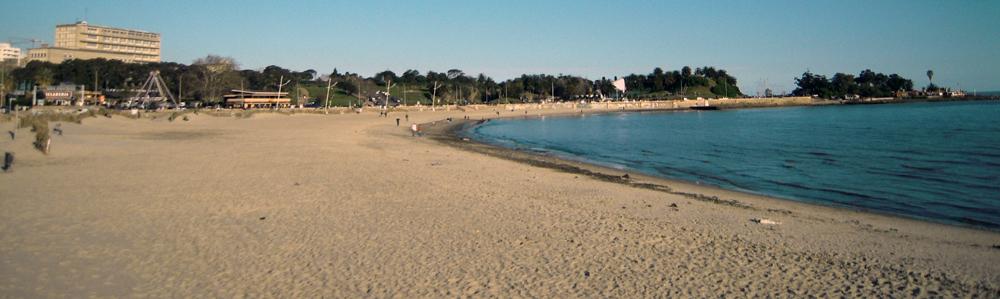 Playa Ramblas de Montevideo