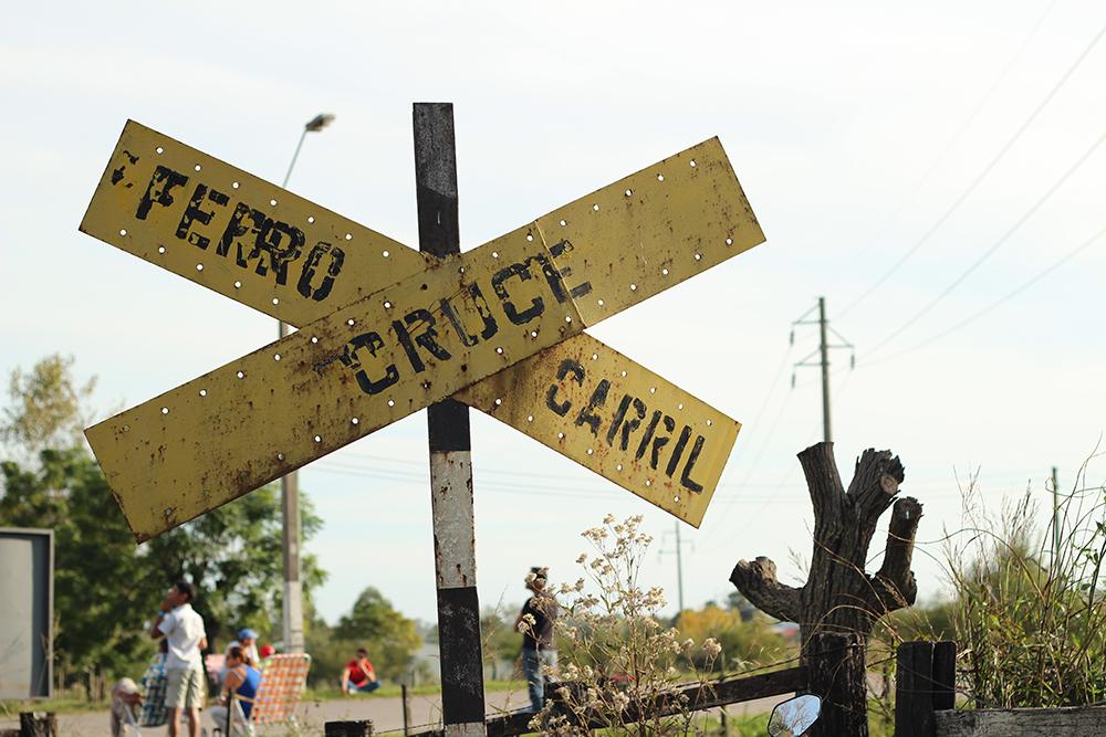 Ferrocarril Cruce en Uruguay
