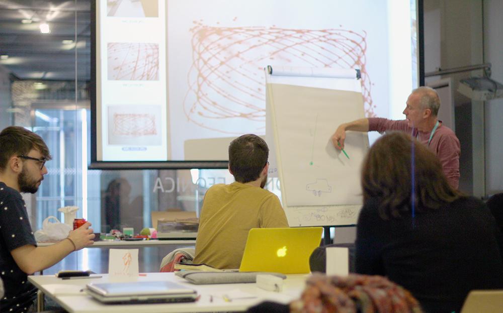 Taller Máquinas de Dibujar y Movimiento explicación de Yago Torroja