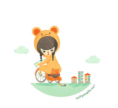 Ciudad y bicicletas